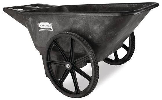 GORILLA CARTS 1,200 Lbs. Heavy Duty Steel Utility Cart-GOR1201B