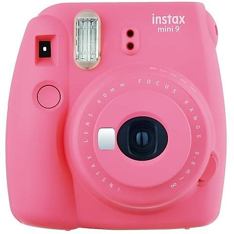 Fujifilm Instax Mini 9 Analog Instant Camera, Flamingo Pink