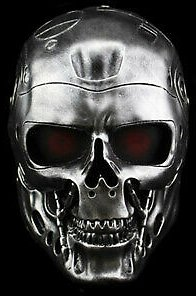 The Terminator Robot Mask Resin Full Face Mask Cosplay Halloween Party Prop