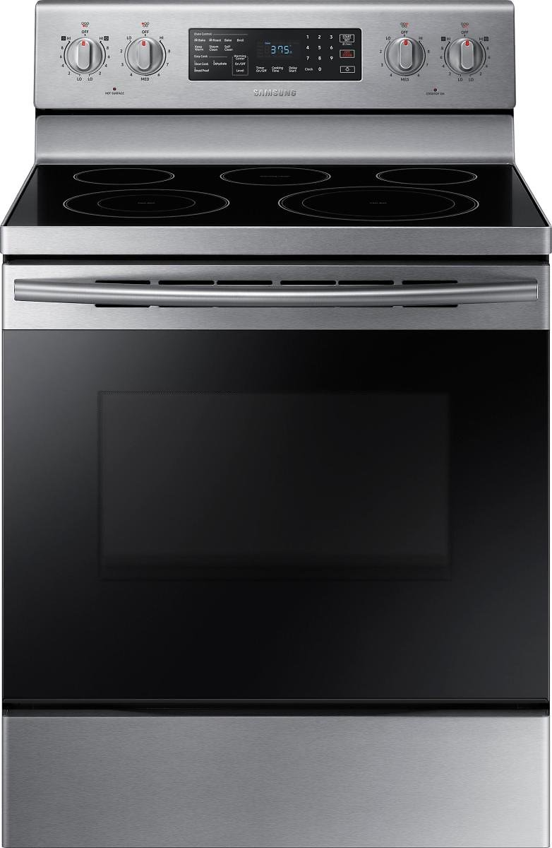 Samsung 5.9 Cu. Ft. Convection Freestanding Electric Range Stainless Steel NE59M4320SS