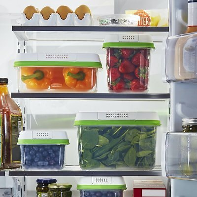 FreshWorks Food Storage Containers, 8-Piece Set - Sam's Club