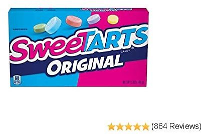 10-Pack SweeTARTS Original Theater Box.