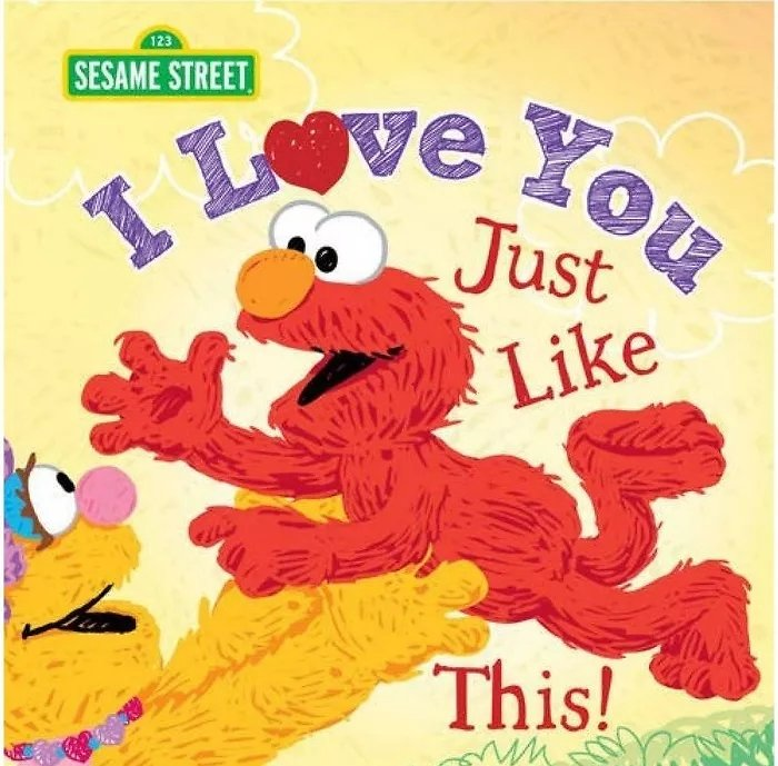 I Love You Just Like This ( Sesame Street) (Hardcover)