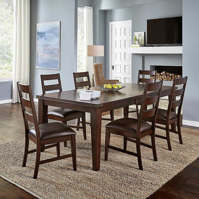 Clarksdale 7-piece Dining Set + Free Shipping