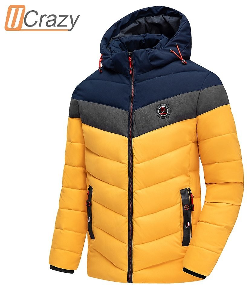 US $30.74 61% OFF|Men 2020 Winter Brand New Casual Warm Thick Waterproof Jacket Parkas Coat Men New Autumn Outwear Windproof Hat Parkas Jacket Men|Parkas| - AliExpress