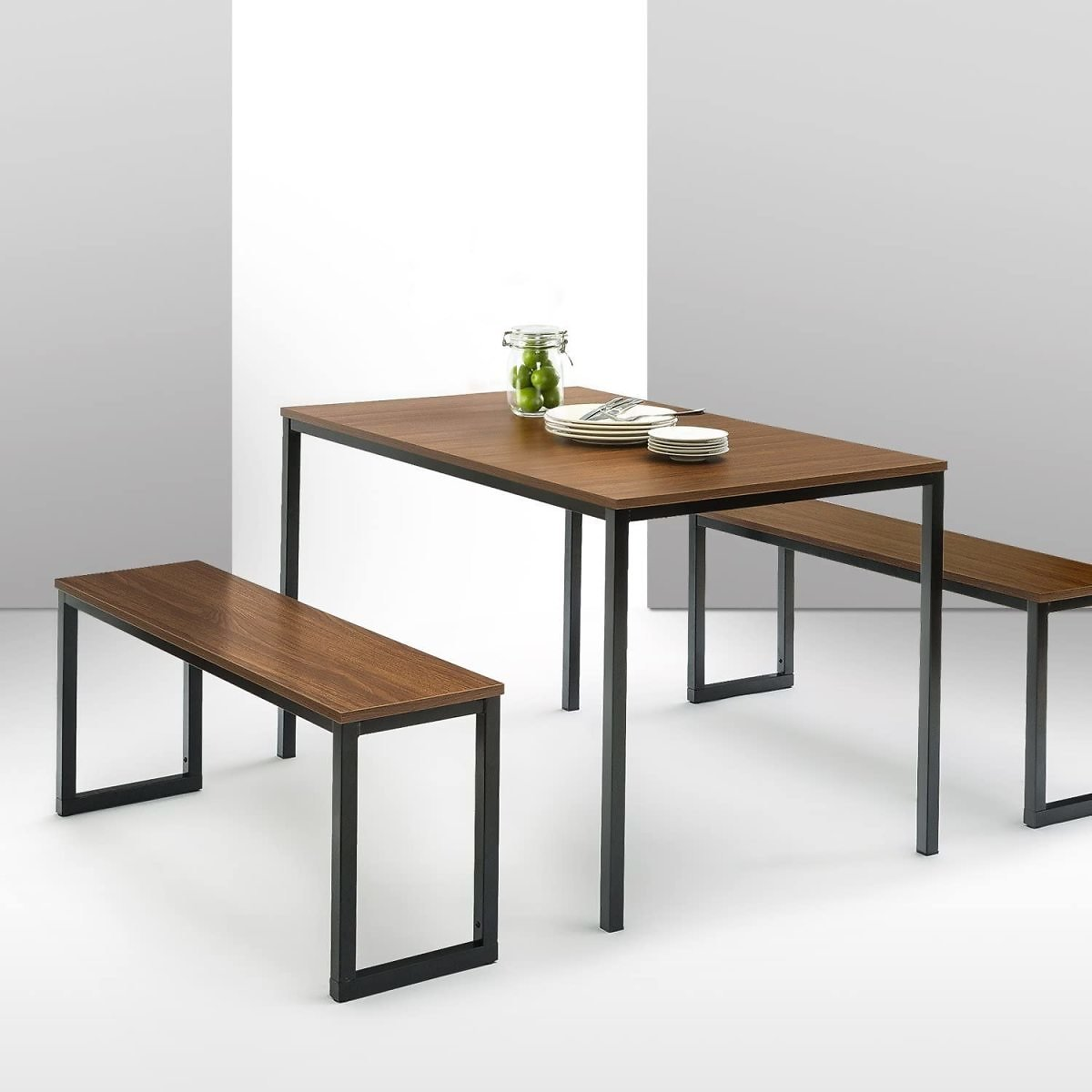Soho Dining Table with Two Benches / 3 Piece Set