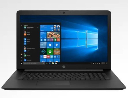 HP 17t-by300 17.3-inch Laptop W/Core I7, 1TB HDD