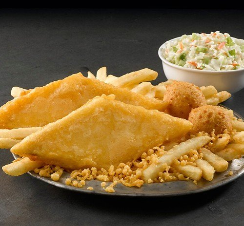 2Pc Fish or 3 Pc Chicken Meals $4.99
