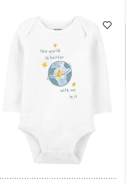 The World Is Better With Me In It Bodysuit