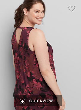 LIVI Cutout-Back Tank | Cacique