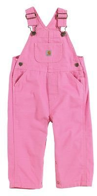 Carhartt Washed Microsanded Canvas Bib Overalls for Baby or Toddler Girls   Bass Pro Shops