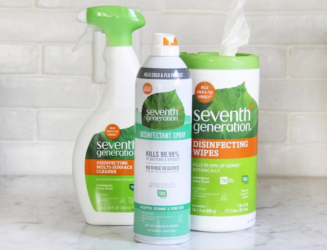 Seventh Generation Wipes, Paper Tissue, Hand Soap and Sanitizer & More