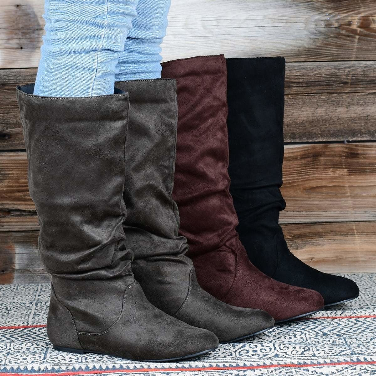 Slouchy Riding Boot | Wide Options