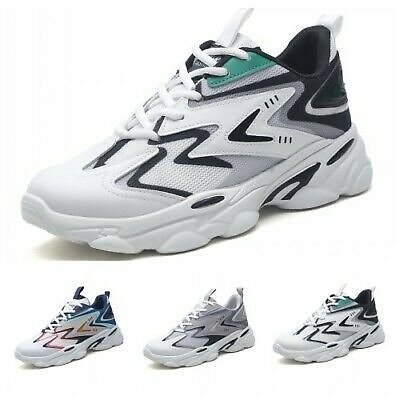 Mens Outdoor Walking Sport Running Casual Athletic Sneakers Breathable Shoes D