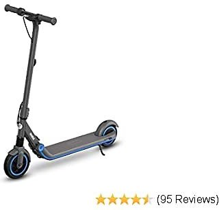 Segway Ninebot EKickScooter ZING E8 and E10, Electric Kick Scooter for Boys and Girls, Lightweight and Foldable, Pink, Blue, Dark Grey