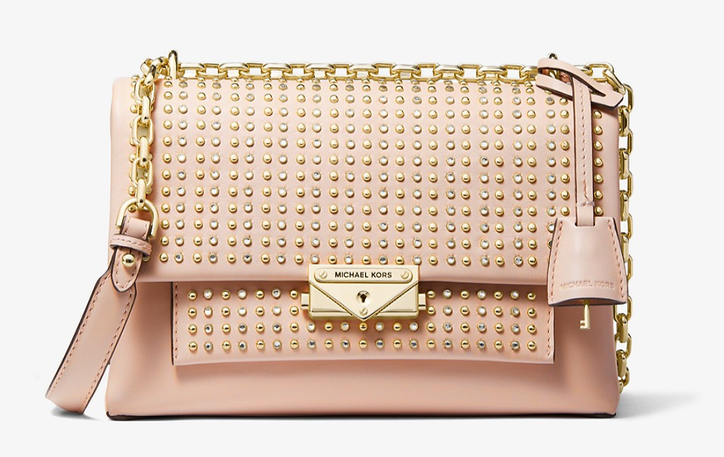 SALE!! Cece Medium Studded Leather Convertible Shoulder Bag | Michael Kors