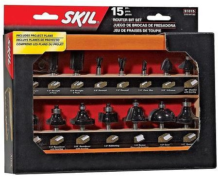 SKIL Router Bit Set Lowes.com