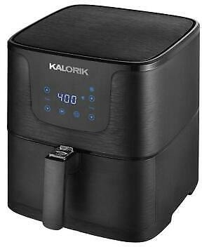 KALORIK 3.5 QUART DIGITAL AIR FRYER, MATTE BLACK-CERTIFIED REFURBISHED 848052006874