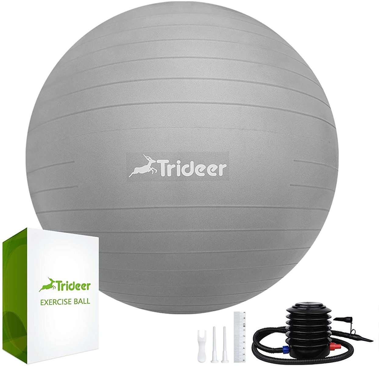24% Off Trideer Exercise Ball Extra Thick Yoga Ball
