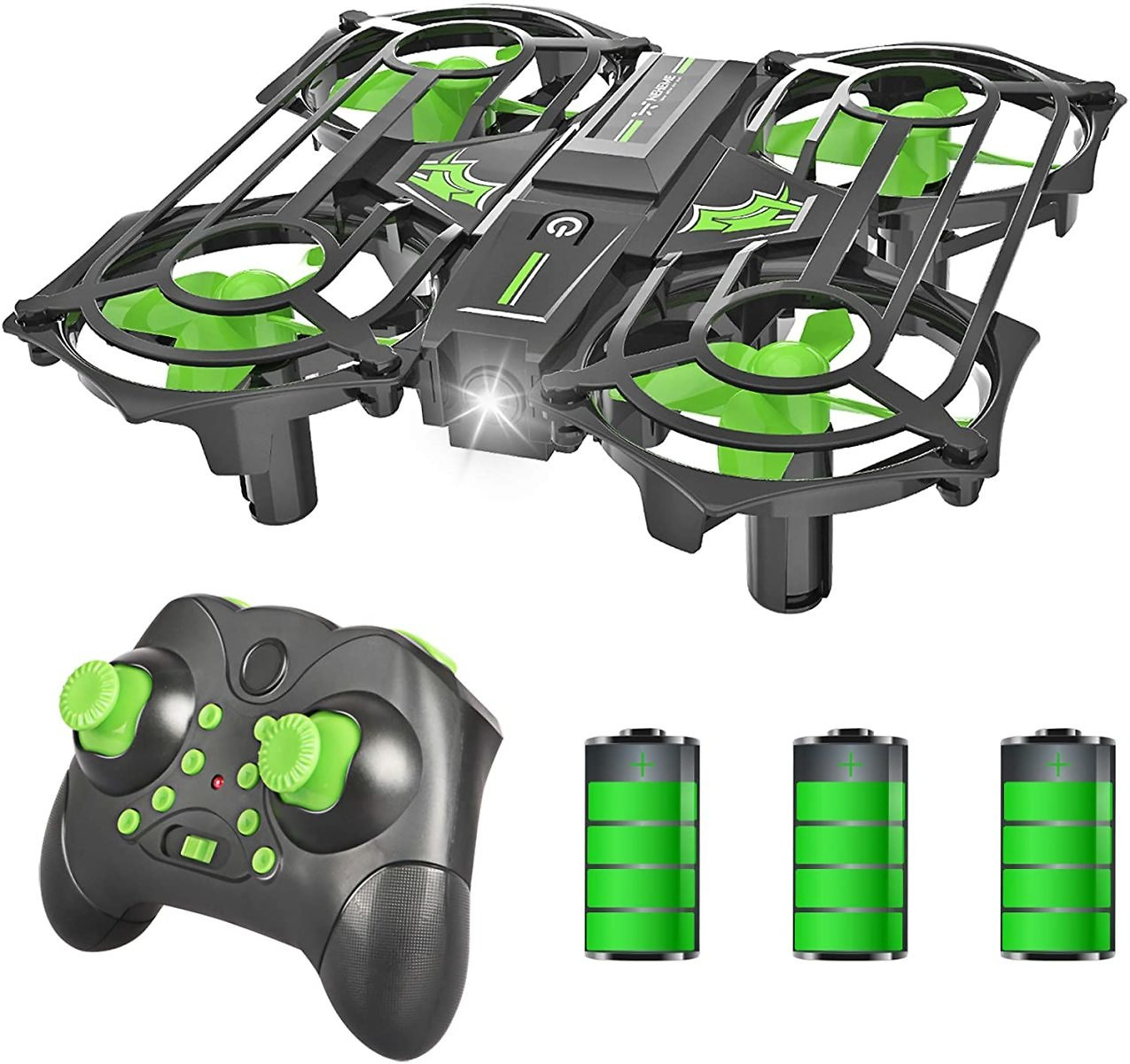 Mini Quadcopter Drones for Kids with Auto Hovering and 3 Batteries