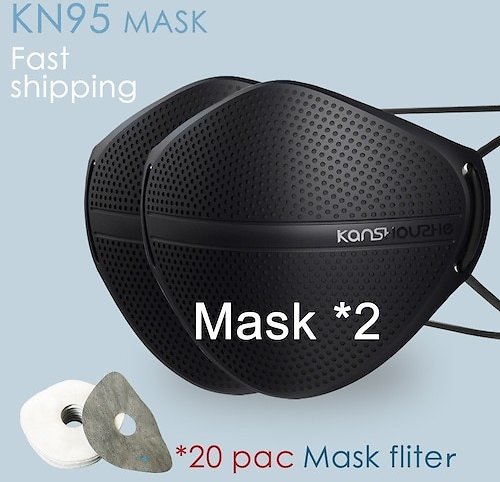 N95 Face Mask Fast Shipping Reusable Dust Masks