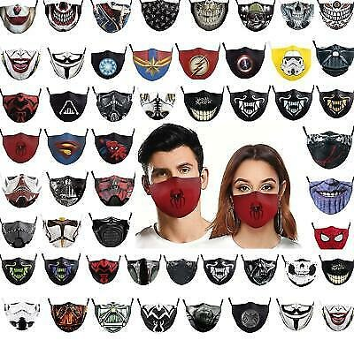 Unisex Washable Reusable Facemask Half Face Mouth Mark Protective Filter Mask