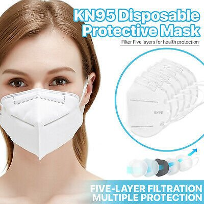 [50 Pack] KN95 5-Ply Face Mask