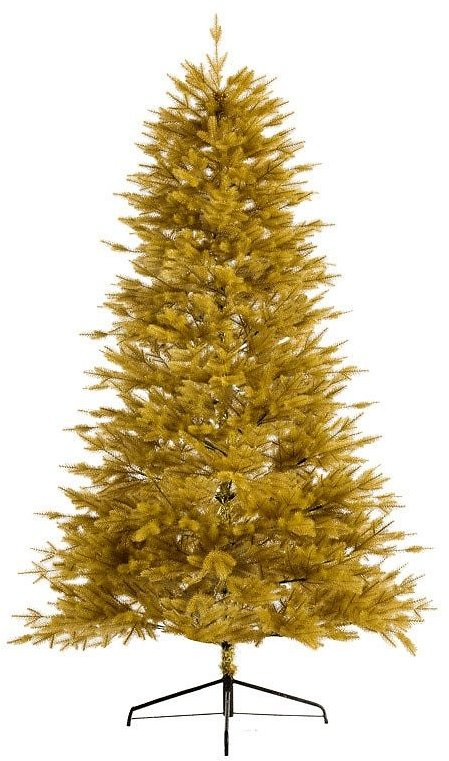 High-end X-mas Decoration Christmas Tree Gold Leaves Artificial Christmas Tree Ornament Home Decoration Accessories Kids Gifts
