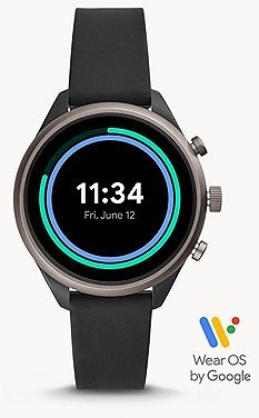 Fossil Sport Smartwatch 41mm Black Silicone
