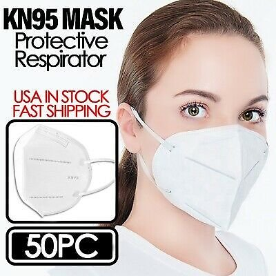 KN95 Protective 5 Layers Face Mask [50 Pack]