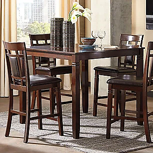 Bennox Counter Height Dining Table and Bar Stools (Set of 5) | Ashley Furniture HomeStore