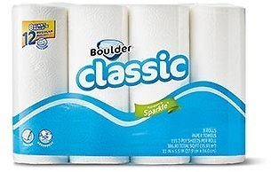 Boulder 8 Roll Multi-Size Paper Towel (In-Store)
