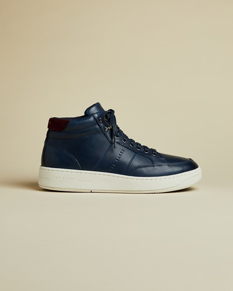 MALANTO Leather Sneaker Boots