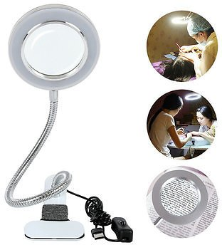 LED Tattoo Lamp Beauty Mirrors Lamp Magnifying Glass Cold Light Clip LampMakeupfromHealth,Beauty & Hairon Banggood.com