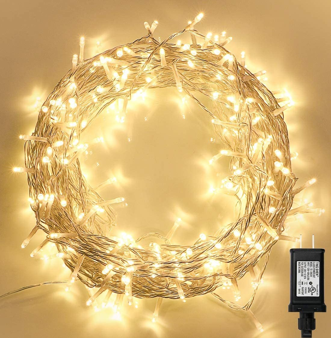 300 LED Indoor String Lights with Remote and Timer