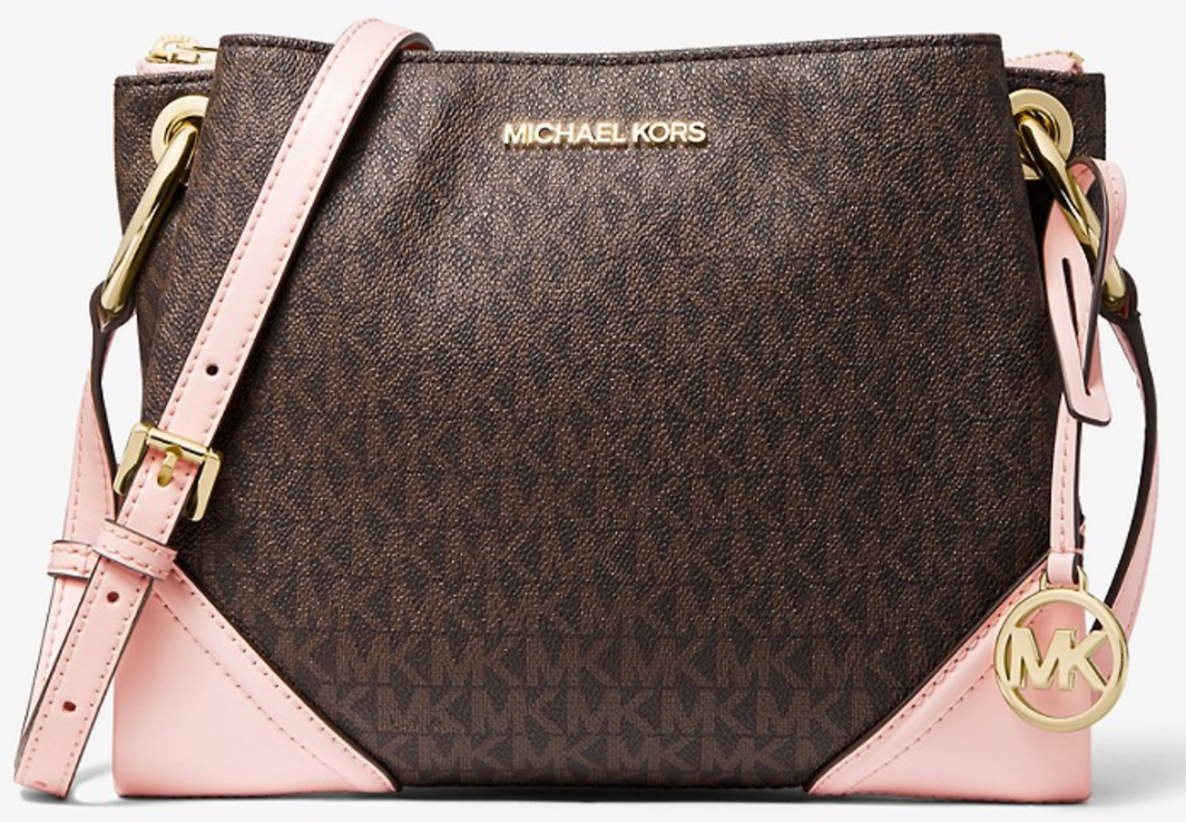 Nicole Large Logo Crossbody Bag | Michael Kors