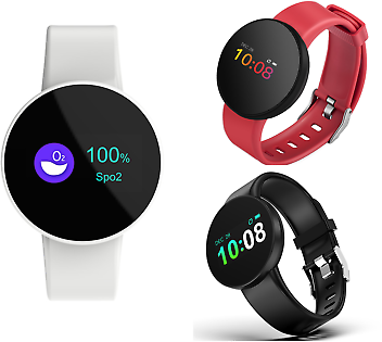Smartwatch Bluetooth Samsung IPhone Sport Smart Band OLED HD Phone Android IOS ♥