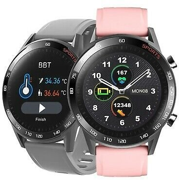 Smartwatch T23 Bluetooth Clock Curved Display Android IOS Samsung IPhone Huawei IP