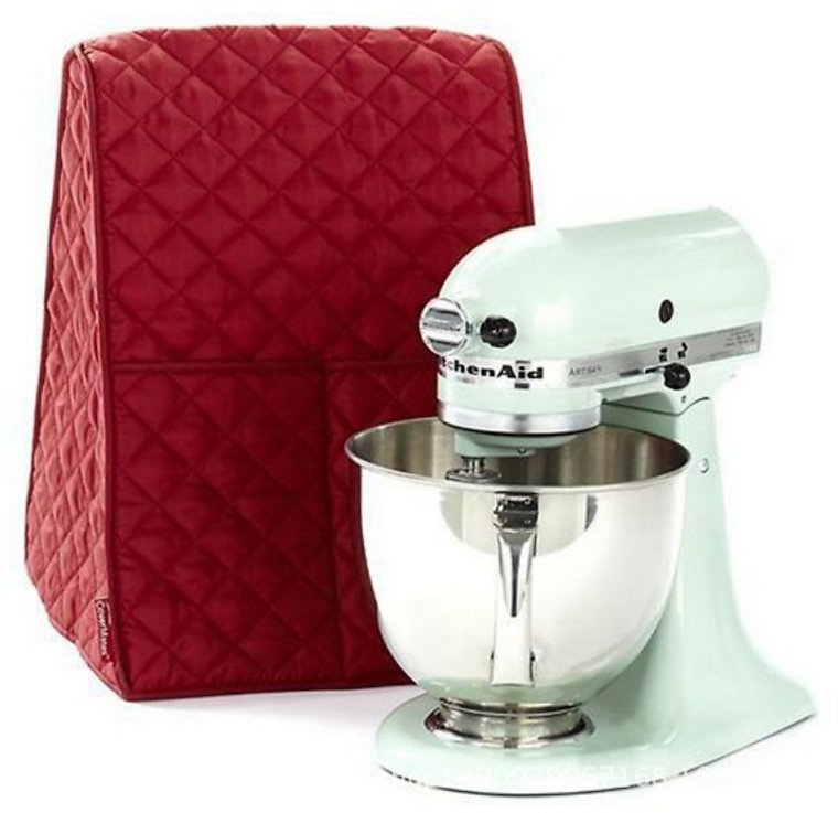 Stand Mixer Dust Proof Cover with Pocket and Organizer Bag for Kitchenaid Sunbeam Cuisinart Hamilton Mixer