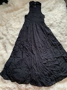 Urban Outfitters Kimchi Blue XS Ladies Womens Dress Black Maxi Summer Clothing