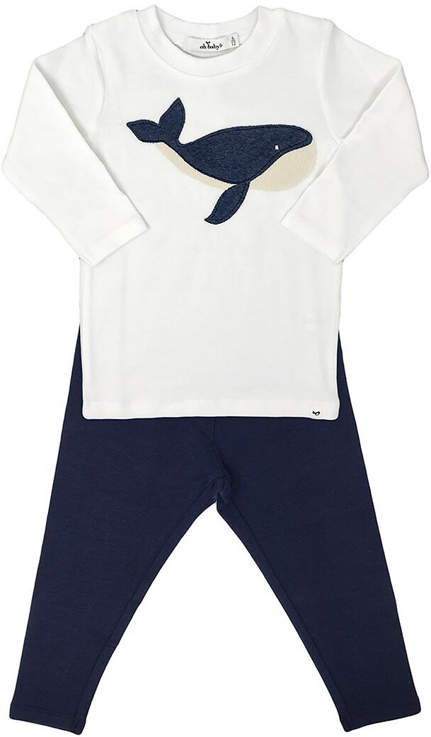 Oh Baby! Moby On Cream Mixed 2pc Set