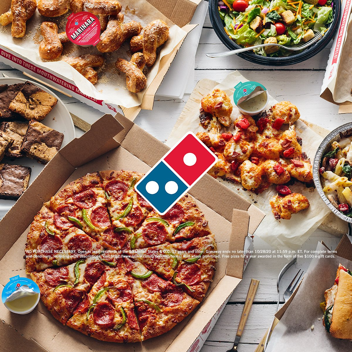 Domino's Is Giving Away Free Pizza for a YEAR Soon! �