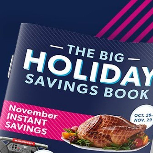 Over $4,700 Holiday Instant Savings Book