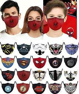Skull Mouth Face Mask Face Covering Reusable Washable