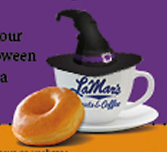 Wear a Costume for Free Donut!
