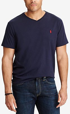 Polo Ralph Lauren Men's Big & Tall Classic Fit V-Neck T-Shirt & Reviews - T-Shirts - Men
