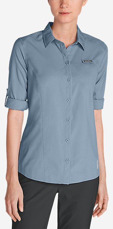 Women's Water Guide Long-sleeve Shirt | Eddie Bauer