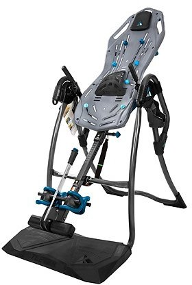 Teeter FitSpine LX9 Inversion Table, Deluxe EZ-Reach Ankle Lock, Back Pain Relief Kit, FDA-Registered
