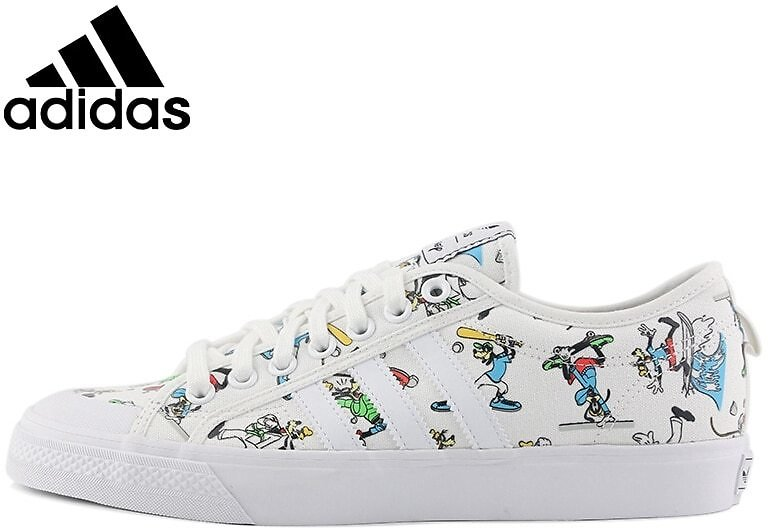 US $106.76 32% OFF|Original New Arrival Adidas Originals NIZZA X DISNEY SPORT GOOFY Unisex Skateboarding Shoes Sneakers|Skateboarding| - AliExpress