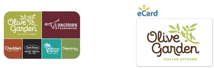 FREE $5 Walmart EGift Card W/Purchase of $25 or More in Darden® Restaurants Gift Cards